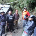 Trekking in Nepal, Nepal Trekking by Lyn, David and Bob wth ItrekNepal staff
